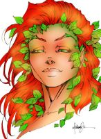 Poison Ivy Fineto by I5Spiders