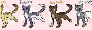 -Cat adoptables- by FancyCookiejar