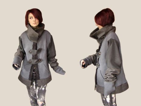 Omphale - Recycled Jacket by Recycled-by-Hyena