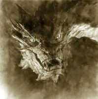 Smaug by Kid-Eternity