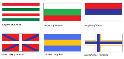 Flags of Feline Empire part 2 by KingSejong