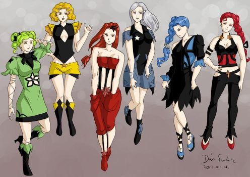 Death Busters Fashion by Seeraholic