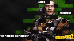 Borderlands 2 Wallpaper - Legacy (Axton) by mentalmars