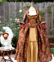 18th Century Gown by AlAlNe