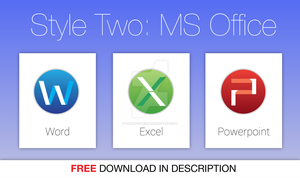 Office 2011 for Mac Icons Style 2 by hamzasaleem