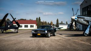 Mustang and Warbirds by AmericanMuscle