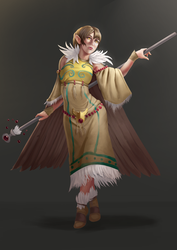 Vulture Shaman by Chacobo