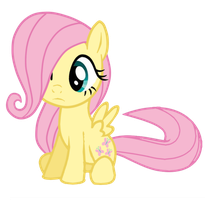 Filly Fluttershy by Posey-11