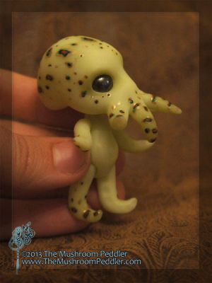 Sir Octavius Von Tentacle - BJD ball joint doll by TheMushroomPeddler