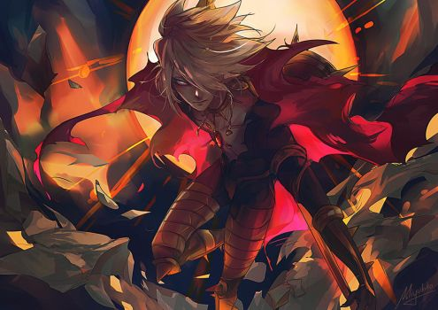 FGO - Karna, son of the sun god by Miyukiko