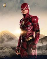 Justice League the Flash Promo Pic by Artlover67