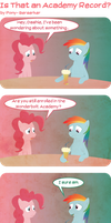 Is That an Academy Record? by Pony-Berserker