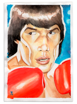 Carlos Monzon (Argentinian world champion) by FAB-dark