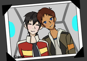 First Picture Together - Klance by sishnie