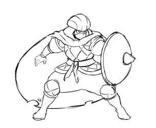 Qadira Idle Rough Animation by IndivisibleRPG
