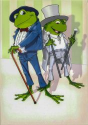Three frogs 06 by Vanxee