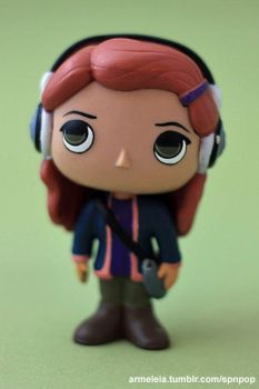 Charlie Bradbury Custom Funko POP (Supernatural) by Armeleia