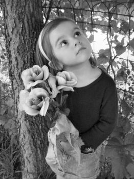My Daughter - BW by Malignant-Aspiration