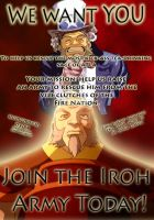 We want YOU in the Iroh army by stormbringer246