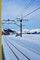 Joetsu line in winter by Furuhashi335