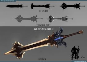 Study weapon 1 by dante2906