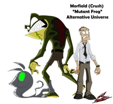 Morfield (Crush) Alternative Universe #2 by Sub-Real