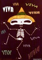 VIVA Skeleton by Johnny-Lively