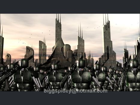 Assembled multitudes by biggspidey