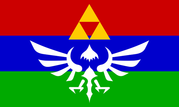Hylian Flag - New Version by Sarinilli