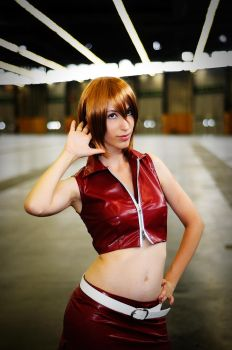 Meiko from Vocaloid Cosplay by Sandman-AC