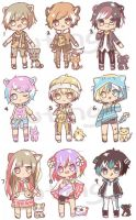 [SET PRICE] Adopt Patch by UtingY