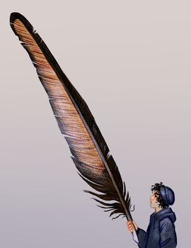 Will And His Brother's Feather by DimeSpin