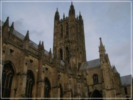 Canterbury Cathedral by carolynthefairy