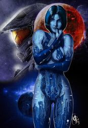 Halo 5 Guardians - Cortana by nielisson