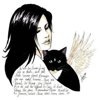 In Memory of a Kitty by vaoni