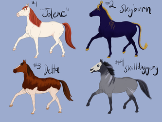 free horse adopts closed by luna212