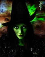 Nicole Scherzinger as Elphaba for Wicked by Valor1387
