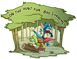 Boo Shroom Adventure by Nestly