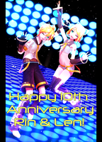 .: 10th Anniversary :. by Crystallyna
