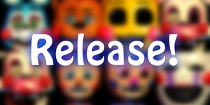 [C4D/FNAF] Toys Pack Release! by Groza-B