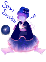 ( Adoptable ) - Star Sapphire by MayBeYourSenpai