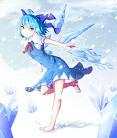 Cirno by palinus