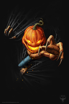 Pumpkin Within by amorphisss