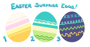 [Closed] Pacapillar Easter Pallet Eggs Auction! by toripng