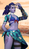 Summer Widowmaker by Snoopsahoy