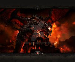 Diablo Dungeon Go Launcher Wallpaper 5 by Jekmyster