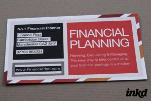 Striped Financial Planner by inkddesign