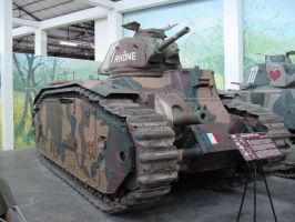 Char B1 - French heavy tank by Captain-Sweden