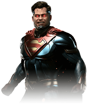 Superman V.2 - Injustice 2 Render by YukiZM