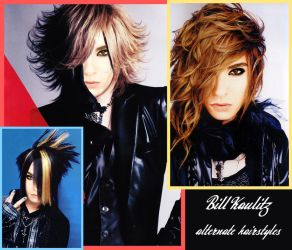 Bill Kaulitz alternate hairstyles by FDQ